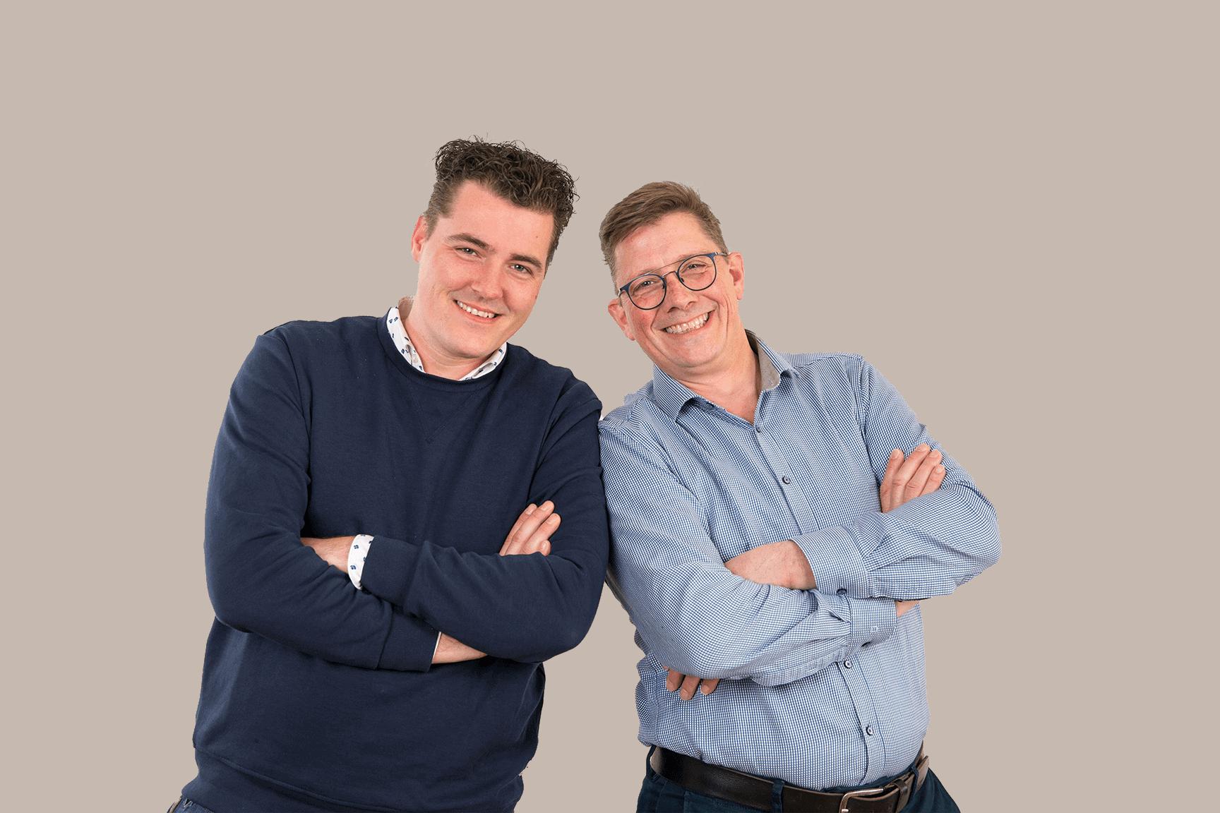 Erik Davids & Jan-Paul Steggerda bij Meceda